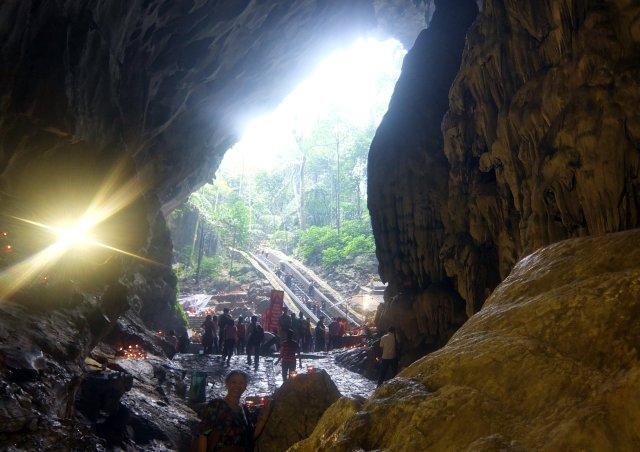 A la sortie de Hương Tich